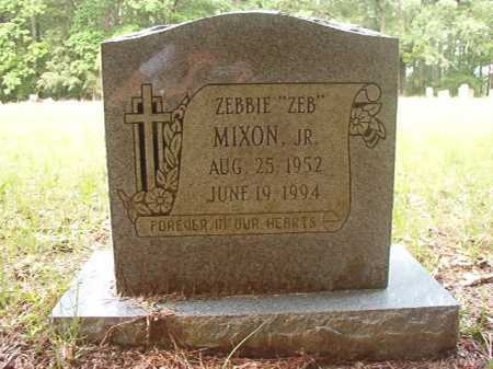 "MIXON, JR, ZEBBIE ""ZEB"" - Columbia County, Arkansas | ZEBBIE ""ZEB"" MIXON, JR - Arkansas Gravestone Photos"