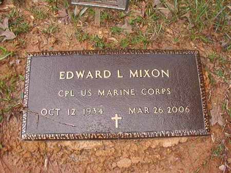 MIXON (VETERAN), EDWARD L - Columbia County, Arkansas | EDWARD L MIXON (VETERAN) - Arkansas Gravestone Photos