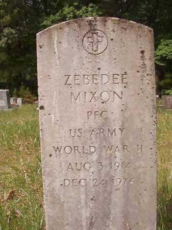 MIXON (VETERAN WWII), ZEBEDEE - Columbia County, Arkansas | ZEBEDEE MIXON (VETERAN WWII) - Arkansas Gravestone Photos