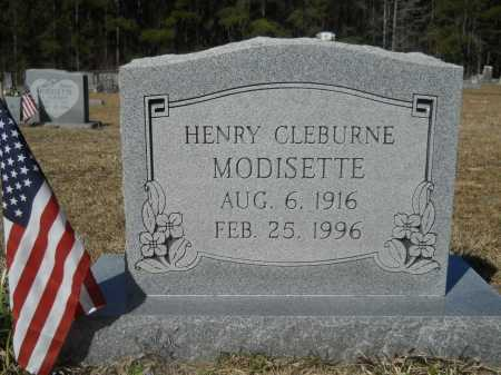 MODISETTE, HENRY CLEBURNE - Columbia County, Arkansas | HENRY CLEBURNE MODISETTE - Arkansas Gravestone Photos