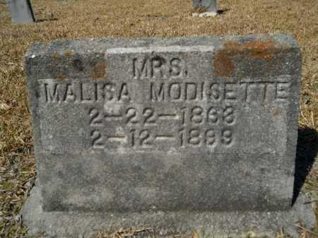 MODISETTE, MALISA - Columbia County, Arkansas | MALISA MODISETTE - Arkansas Gravestone Photos