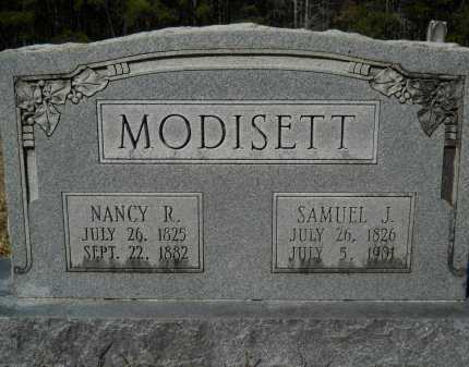 MODISETT, NANCY R - Columbia County, Arkansas | NANCY R MODISETT - Arkansas Gravestone Photos