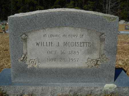 MODISETTE, WILLIE J - Columbia County, Arkansas | WILLIE J MODISETTE - Arkansas Gravestone Photos