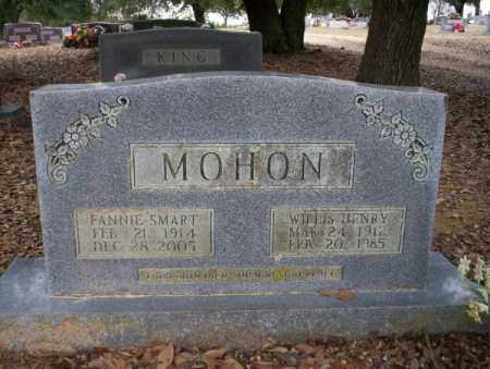 SMART MOHON, FANNIE - Columbia County, Arkansas | FANNIE SMART MOHON - Arkansas Gravestone Photos