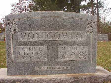 MONTGOMERY, CHRIS B - Columbia County, Arkansas | CHRIS B MONTGOMERY - Arkansas Gravestone Photos