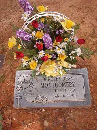 MONTGOMERY, DOROTHY JEAN - Columbia County, Arkansas | DOROTHY JEAN MONTGOMERY - Arkansas Gravestone Photos