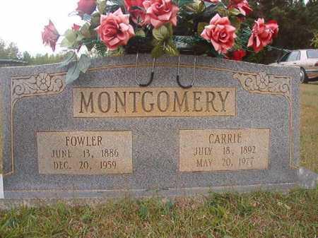 MONTGOMERY, FOWLER - Columbia County, Arkansas | FOWLER MONTGOMERY - Arkansas Gravestone Photos