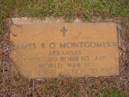 MONTGOMERY (VETERAN WWII), JAMES R O - Columbia County, Arkansas | JAMES R O MONTGOMERY (VETERAN WWII) - Arkansas Gravestone Photos