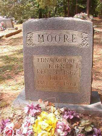 MOORE, EDNA - Columbia County, Arkansas | EDNA MOORE - Arkansas Gravestone Photos