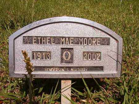 MOORE, ETHEL MAE - Columbia County, Arkansas | ETHEL MAE MOORE - Arkansas Gravestone Photos