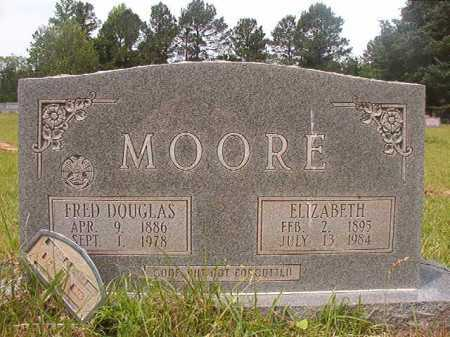 MOORE, ELIZABETH - Columbia County, Arkansas | ELIZABETH MOORE - Arkansas Gravestone Photos