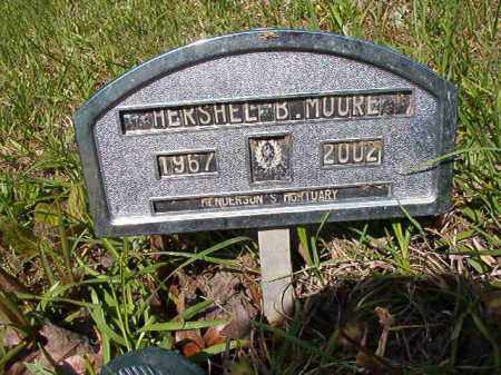 MOORE, HERSHEL B - Columbia County, Arkansas | HERSHEL B MOORE - Arkansas Gravestone Photos