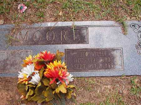 MOORE, LEE WILLIE - Columbia County, Arkansas | LEE WILLIE MOORE - Arkansas Gravestone Photos