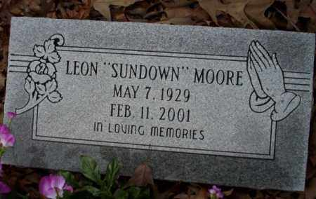 "MOORE, LEON ""SUNDOWN"" - Columbia County, Arkansas 