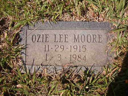 MOORE, OZIE LEE - Columbia County, Arkansas | OZIE LEE MOORE - Arkansas Gravestone Photos
