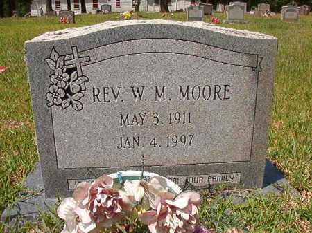 MOORE, REV, W M - Columbia County, Arkansas | W M MOORE, REV - Arkansas Gravestone Photos