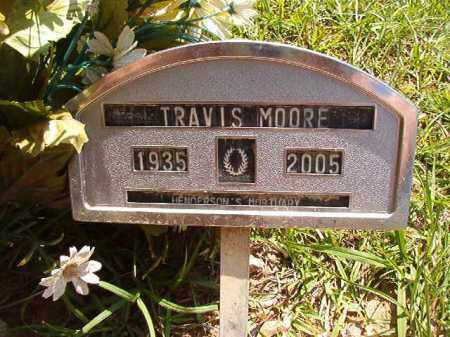 MOORE, TRAVIS - Columbia County, Arkansas | TRAVIS MOORE - Arkansas Gravestone Photos