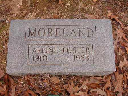FOSTER MORELAND, ARLINE - Columbia County, Arkansas | ARLINE FOSTER MORELAND - Arkansas Gravestone Photos