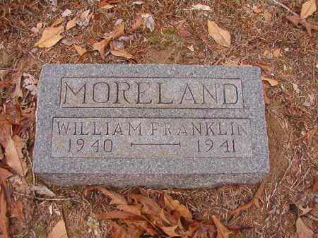 MORELAND, WILLIAM FRANKLIN - Columbia County, Arkansas | WILLIAM FRANKLIN MORELAND - Arkansas Gravestone Photos