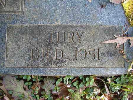 MORGAN, TURY - Columbia County, Arkansas   TURY MORGAN - Arkansas Gravestone Photos