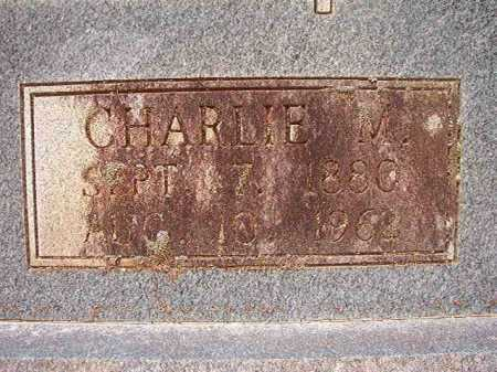 MORRIS, CHARLIE M - Columbia County, Arkansas | CHARLIE M MORRIS - Arkansas Gravestone Photos
