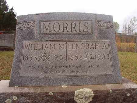 MORRIS, WILLIAM M - Columbia County, Arkansas | WILLIAM M MORRIS - Arkansas Gravestone Photos