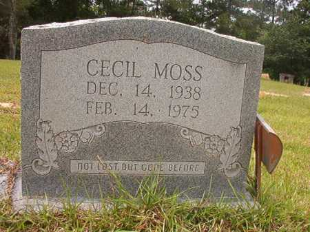 MOSS, CECIL - Columbia County, Arkansas | CECIL MOSS - Arkansas Gravestone Photos