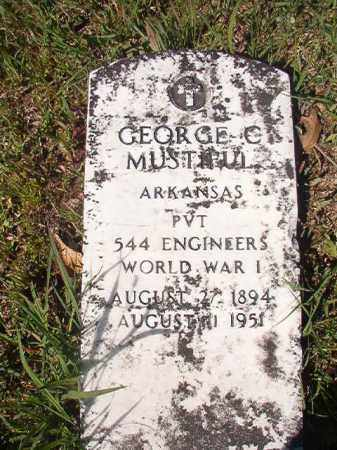 MUSTIFUL (VETERAN WWI), GEORGE C - Columbia County, Arkansas | GEORGE C MUSTIFUL (VETERAN WWI) - Arkansas Gravestone Photos