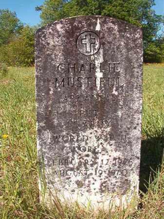 MUSTIFUL (VETERAN 2 WARS), CHARLIE - Columbia County, Arkansas | CHARLIE MUSTIFUL (VETERAN 2 WARS) - Arkansas Gravestone Photos