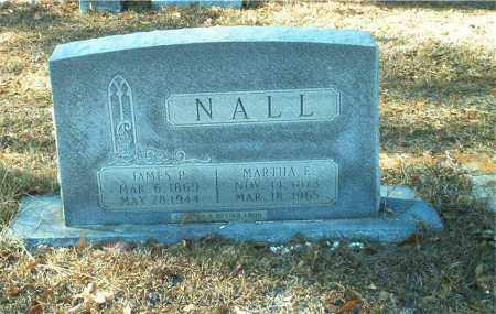 YOUNG NALL, MARTHA E. - Columbia County, Arkansas | MARTHA E. YOUNG NALL - Arkansas Gravestone Photos
