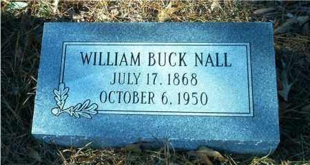 NALL, WILLIAM BUCK - Columbia County, Arkansas | WILLIAM BUCK NALL - Arkansas Gravestone Photos