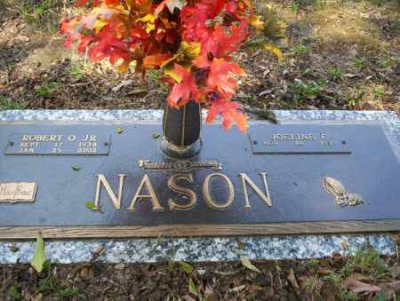 NASON, JR, ROBERT O - Columbia County, Arkansas | ROBERT O NASON, JR - Arkansas Gravestone Photos