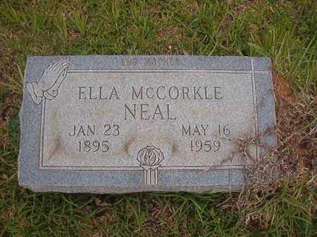 NEAL, ELLA - Columbia County, Arkansas | ELLA NEAL - Arkansas Gravestone Photos