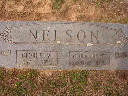 WHITE NELSON, CORA - Columbia County, Arkansas | CORA WHITE NELSON - Arkansas Gravestone Photos