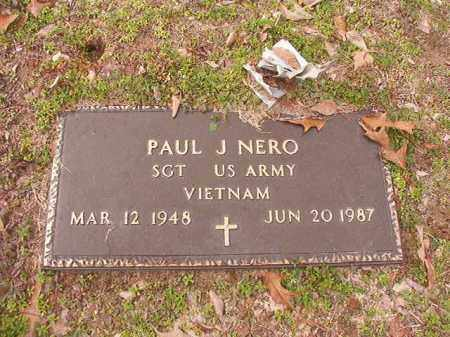 NERO (VETERAN VIET), PAUL J - Columbia County, Arkansas | PAUL J NERO (VETERAN VIET) - Arkansas Gravestone Photos