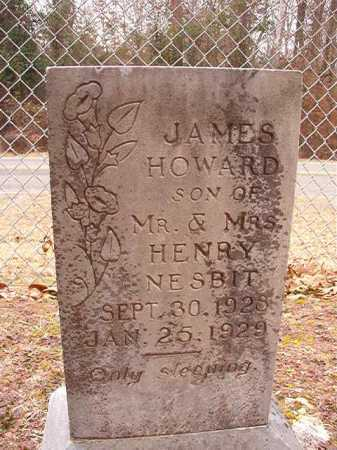 NESBIT, JAMES HOWARD - Columbia County, Arkansas | JAMES HOWARD NESBIT - Arkansas Gravestone Photos
