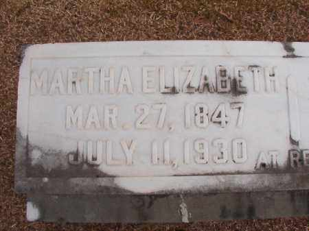 NESBIT, MARTHA ELIZABETH - Columbia County, Arkansas | MARTHA ELIZABETH NESBIT - Arkansas Gravestone Photos