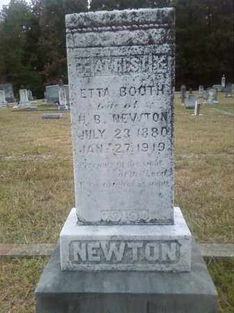 NEWTON, ETTA - Columbia County, Arkansas | ETTA NEWTON - Arkansas Gravestone Photos