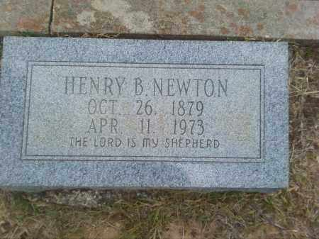 NEWTON, HENRY B - Columbia County, Arkansas | HENRY B NEWTON - Arkansas Gravestone Photos