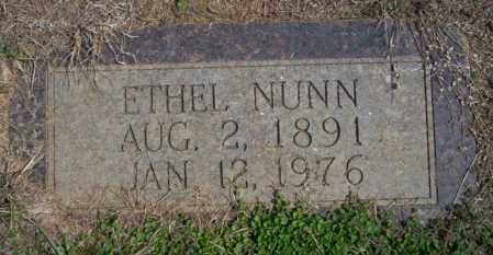 NUNN, ETHEL - Columbia County, Arkansas | ETHEL NUNN - Arkansas Gravestone Photos
