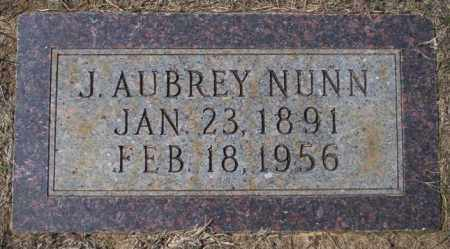 NUNN, J AUBREY - Columbia County, Arkansas | J AUBREY NUNN - Arkansas Gravestone Photos
