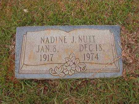 NUTT, NADINE J - Columbia County, Arkansas | NADINE J NUTT - Arkansas Gravestone Photos
