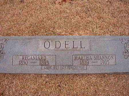 SHANNON O'DELL, MARTHA - Columbia County, Arkansas | MARTHA SHANNON O'DELL - Arkansas Gravestone Photos