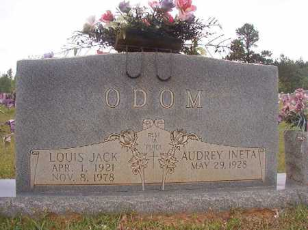 ODOM, LOUIS JACK - Columbia County, Arkansas | LOUIS JACK ODOM - Arkansas Gravestone Photos