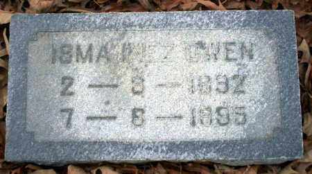 OWEN, ISMA INEZ - Columbia County, Arkansas | ISMA INEZ OWEN - Arkansas Gravestone Photos