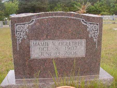 OGLETREE, MAMIE V - Columbia County, Arkansas | MAMIE V OGLETREE - Arkansas Gravestone Photos