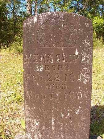 OLIVER, MEMA - Columbia County, Arkansas | MEMA OLIVER - Arkansas Gravestone Photos