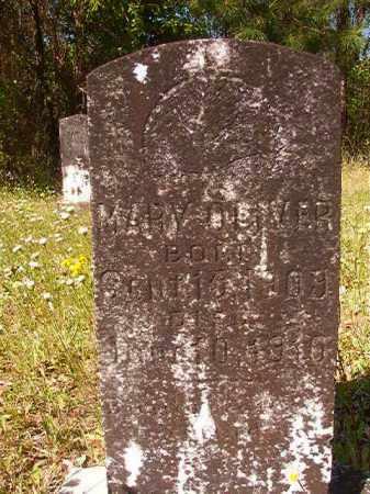 OLIVER, MARY - Columbia County, Arkansas | MARY OLIVER - Arkansas Gravestone Photos