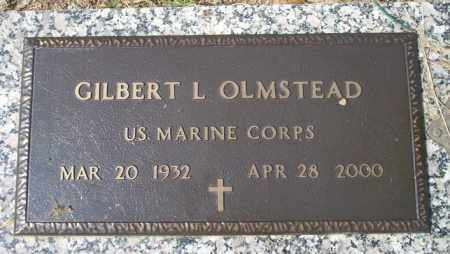 OLMSTEAD  (VETERAN), GILBERT L - Columbia County, Arkansas | GILBERT L OLMSTEAD  (VETERAN) - Arkansas Gravestone Photos