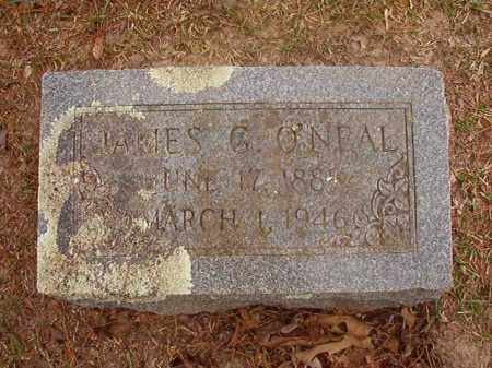 O'NEAL, JAMES G - Columbia County, Arkansas | JAMES G O'NEAL - Arkansas Gravestone Photos